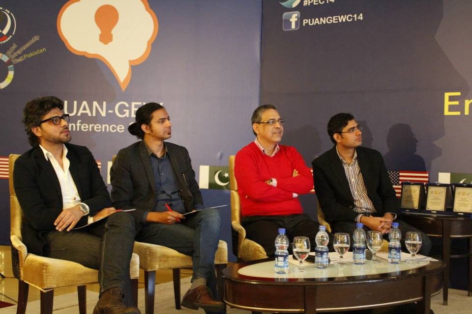 Faraz Khan - CEO & Co-Founder SEED, speaking at the PUAN-GEW Conference 2014