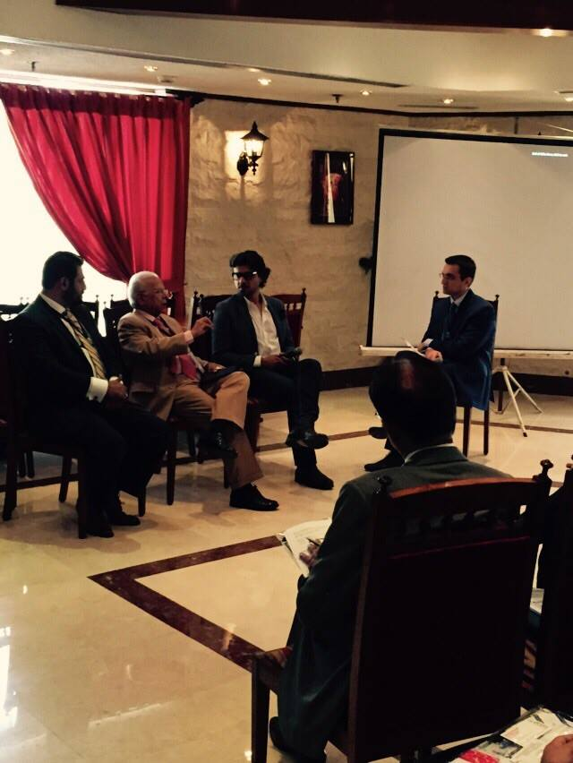 In a panel discussion on