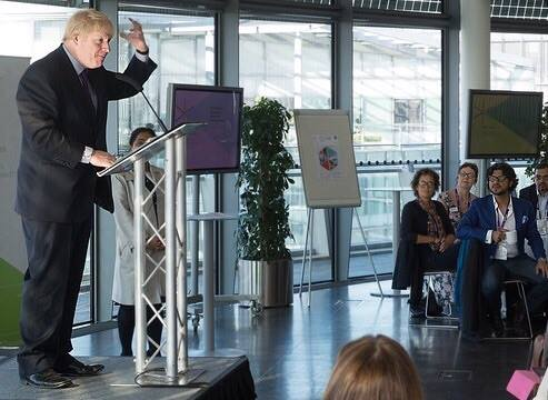 Lunch hosted at City Hall by Boris Johnson, for CSCLeaders & Princess Anne