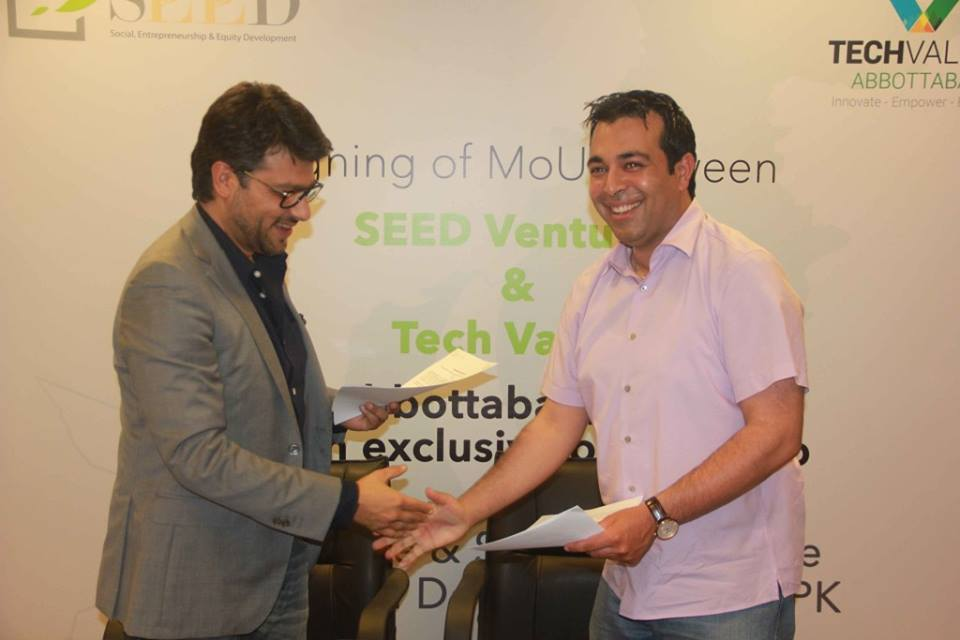 SEED Ventures Signs MoU with Tech Valley Abbottabad for Enterprise and Social Enterprise Development in KPK