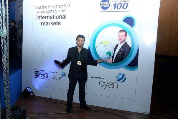 Gizelle Communication, A SEED Company, in Pakistan100 by AllWorld Network