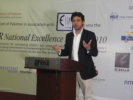 CSR National Excellence Award 2010 - Pakistan