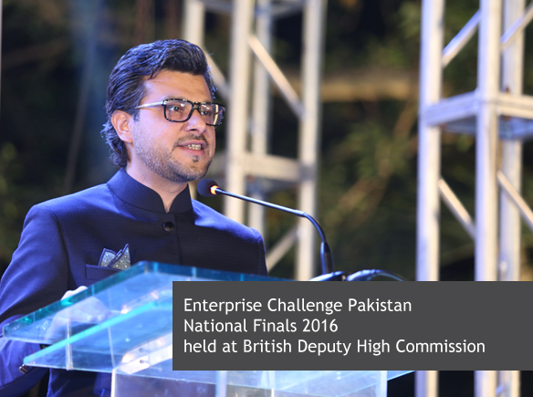 Enterprise Challenge Pakistan National Finals 2016 held at British Deputy High Commission