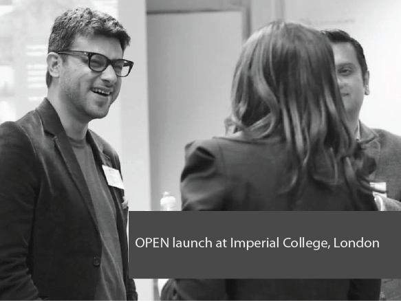 Open Launch at Imperial College London