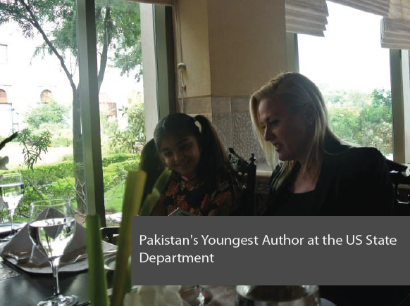 Pakistan's Youngest Author at the US State Department