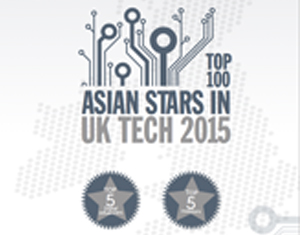 Faraz Khan Featured in Top 100 Asian Stars in UK Tech