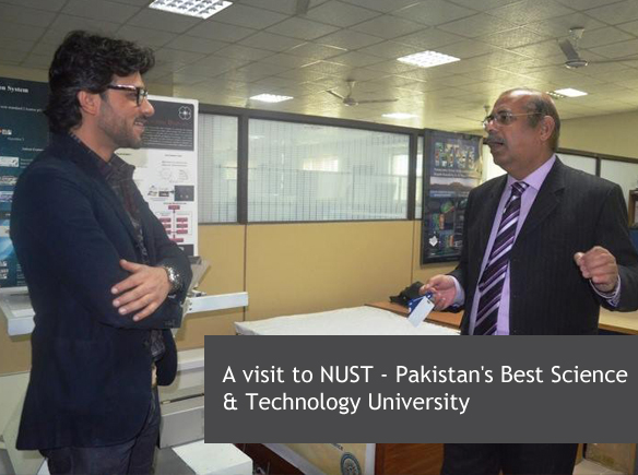 A Visit to NUST - Pakistan's Best Science & Technology University