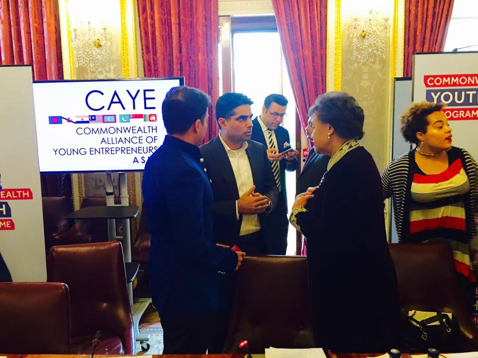 CAYE summit 2016 at commonwealth secretariat London