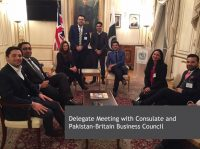 Delegate Meeting with Consulate and Pakistan - Britain Business Council
