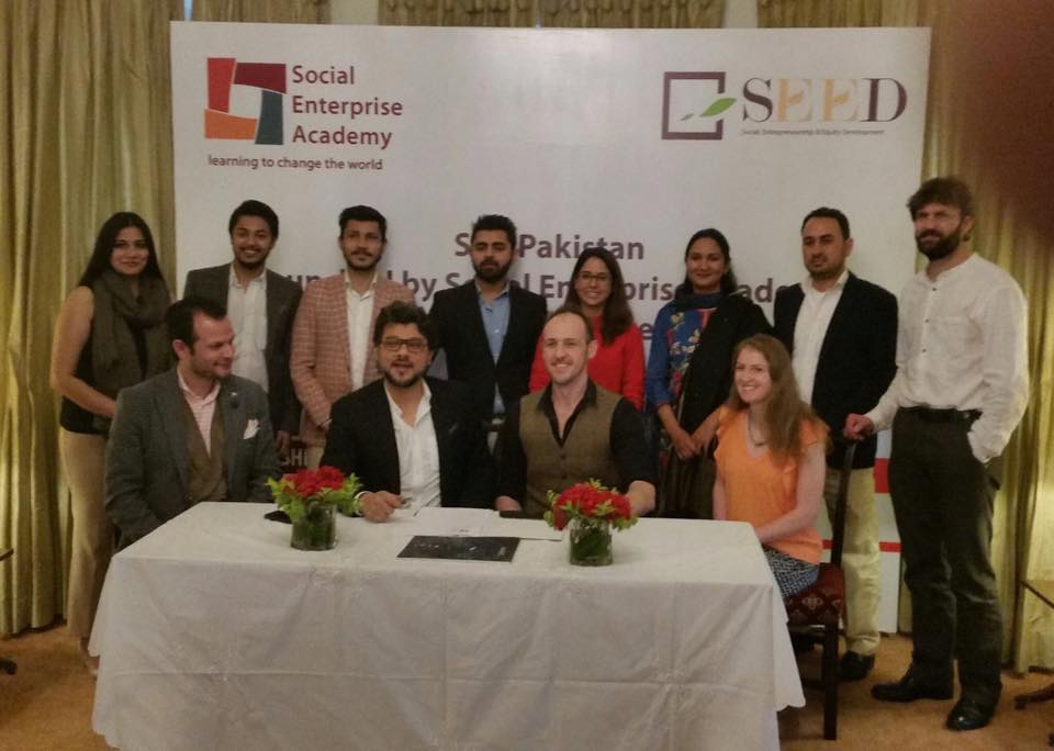 SEA Pakistan Launched by Social Enterprise Academy & SEED Ventures
