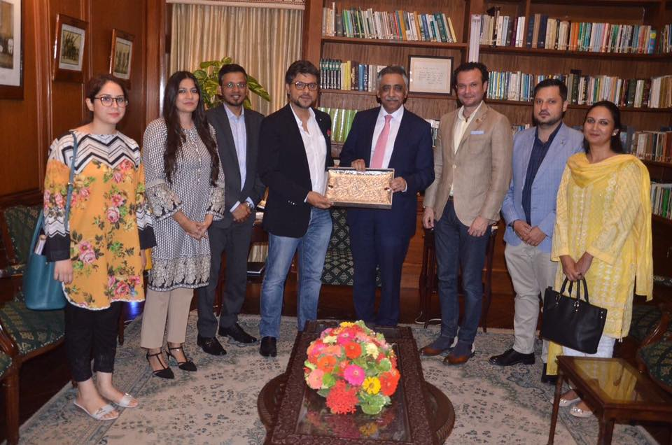 SEED senior management met with Governor Sindh to discuss enterprise and social enterprise ecosystem development